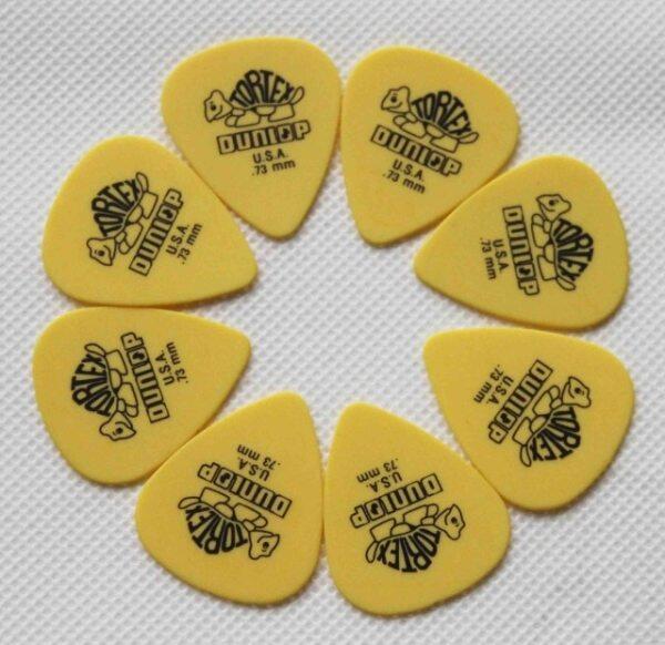 Miếng Gảy Đàn Guitar Dunlop Tortex Derlin, Picks Miếng Gảy Cho Acoustic, Guitar Cổ Điển, Điện Và Bass