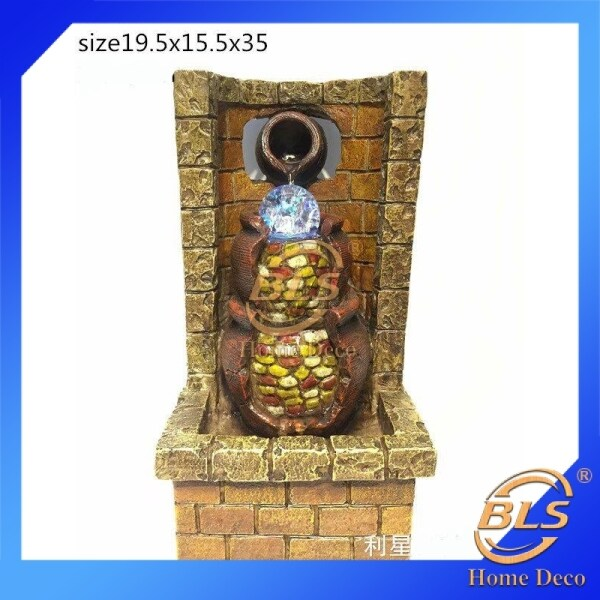 FENG SHUI WATER FOUNTAIN LX2334 TABLE TOP WATER FEATURES DECORATION