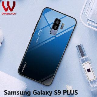 Vwterokai Cao Cấp Cứng Gradient Kính Cường Lực Lưng Gọng Mềm Mại Lưng Dành Cho Samsung Galaxy S9 Plus Điện Thoại Vỏ thumbnail