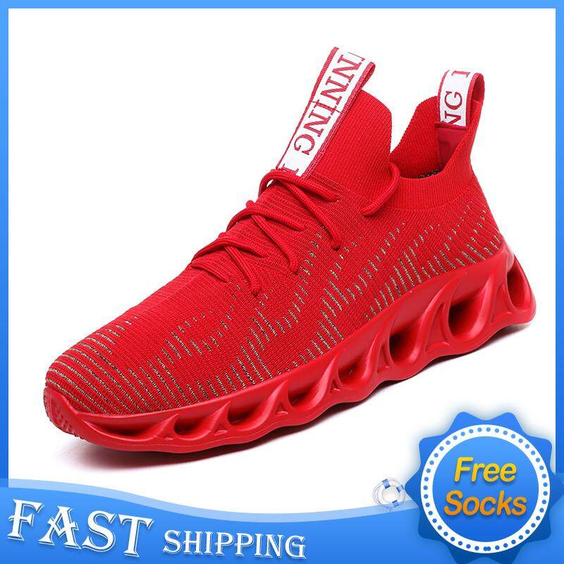Casual Shoes Korean Style Men Fashion Light Mesh Casual Sports Shoes Walking Breathable Trainer Sneakers Plus Size 39-46
