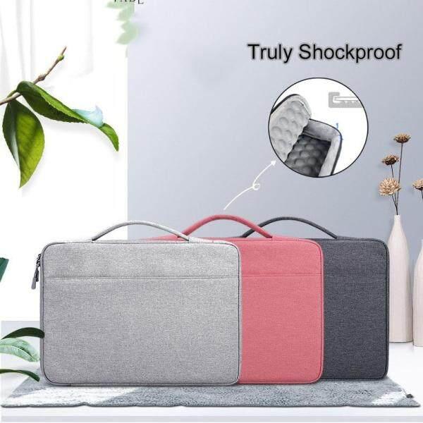 Shockproof Laptop Bag Laptop Sleeve 13 14 15.6 inch for MacBook Air Pro 13 Matebook 14 Sleeve Women Men Solid Laptop Handbag