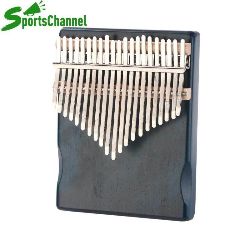 Bộ gõ nhạc cụ 21 phím đàn kalimba gỗ gụ gỗ Thumb Finger piano với công cụ điều chỉnh