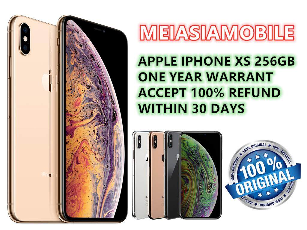 Apple_iphone XS 256GB Original Used Conditions 95% As New
