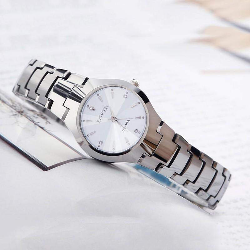 LSVTR Fashion Simple Calendar Men Women Lovers Watches Elegant Couple Quartz Wristwatch Malaysia
