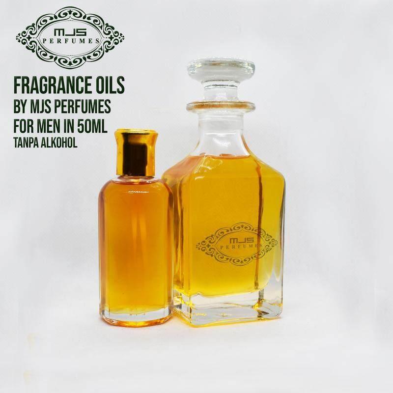 Fragrance Oil Jasmine by MJS Perfumes 50ml Tanpa Alkohol
