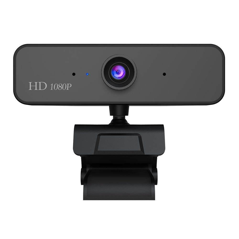 Hxsj S2 HD 1080P Webcam Mikrofon Tanam High-End Panggilan Video Kamera Web untuk PC Laptop (Hitam)