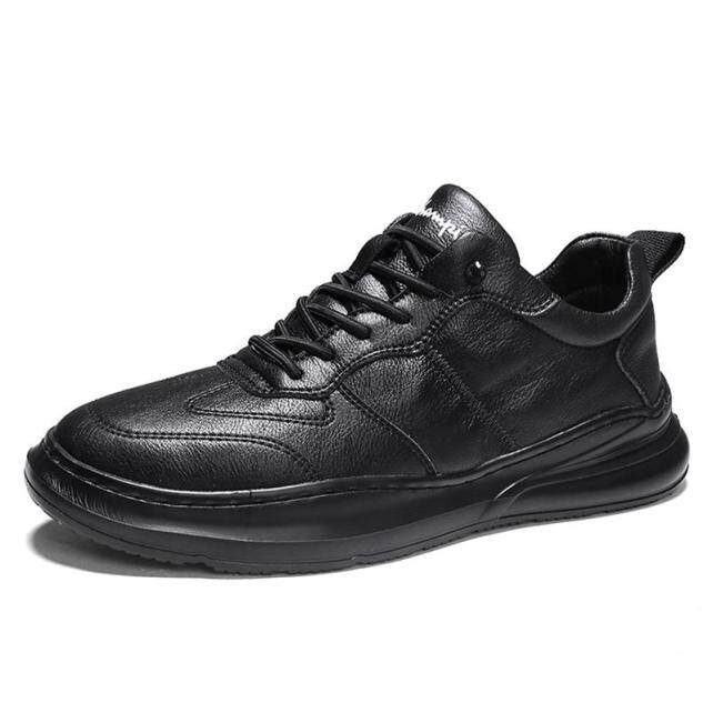 Giày Thể Thao Nam Giày Da Mềm Đế Bằng Thường Ngày Giày Thể Thao Nam Thương Hiệu Thời Trang Xu Hướng Giày Trượt Ván Nam Nhỏ Màu Trắng Zapatos Hombre giá rẻ