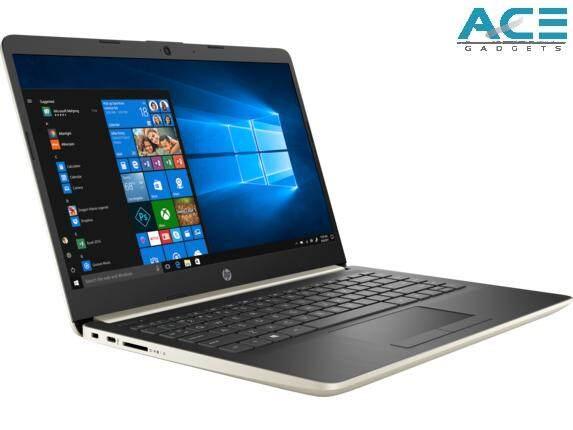 HP 14s-dk0012AX /14s-dk0013AX Notebook *Silver/Gold* (Ryzen 3-3200U/4GB DDR4/256GB PCIe/R530 2GB/14 HD/Win10) Malaysia