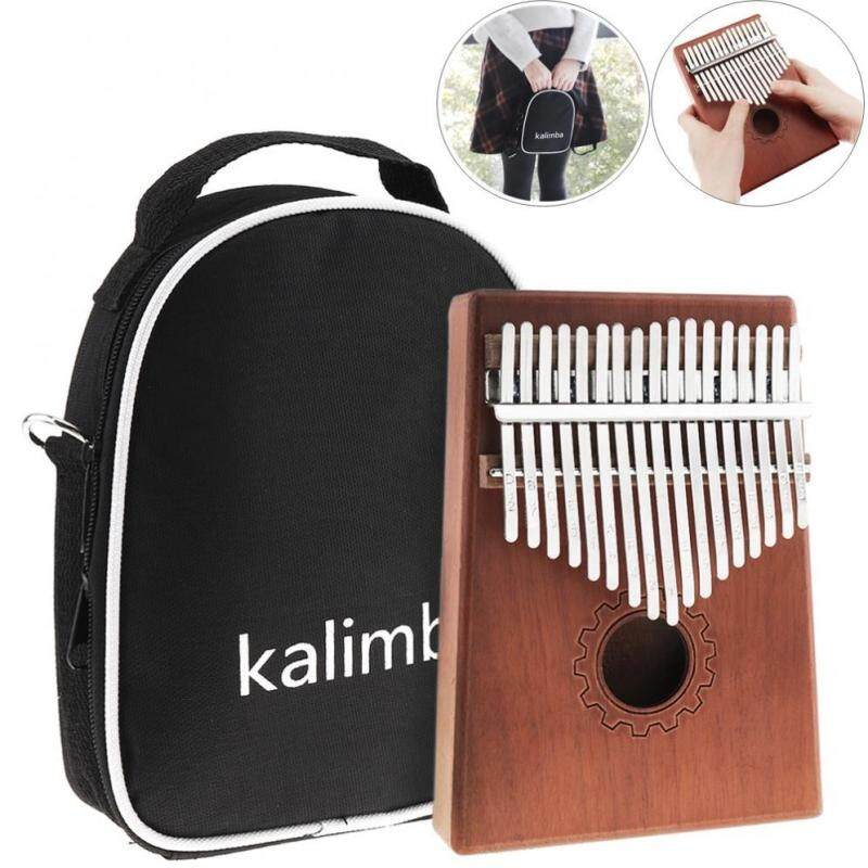 17 Key Kalimba Thumb Piano Set with Bag and Complete Accessories Malaysia