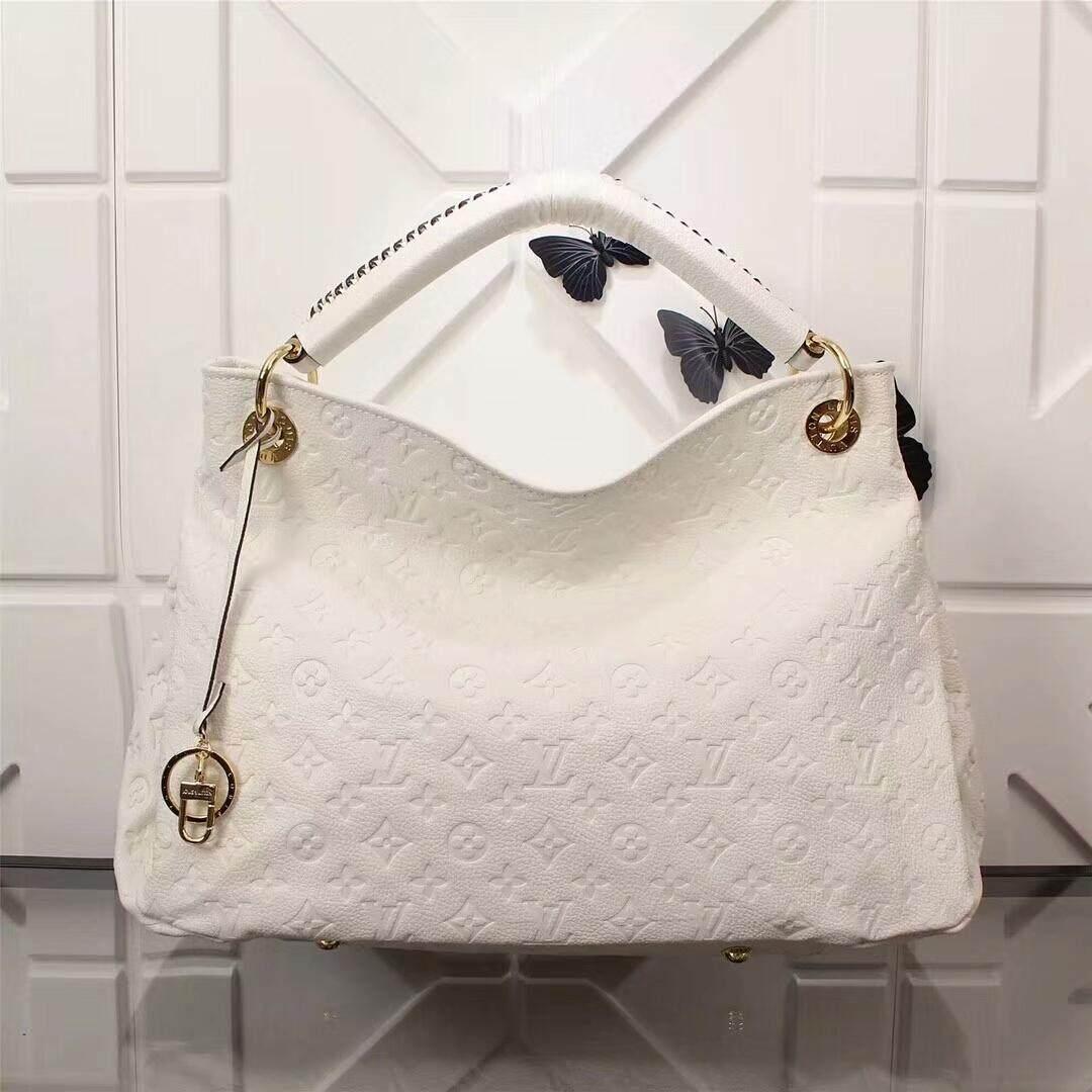 Original Louis Vuitton LV Artsy MM Monogram Empreinte Leather Handbag c3d295054