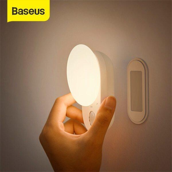 Đèn Ngủ Nam Châm Baseus, Đèn Ngủ Cảm Ứng LED, Đèn Tủ Bếp Có Thể Tháo Rời Cho Tủ Quần Áo Đèn Phòng Ngủ