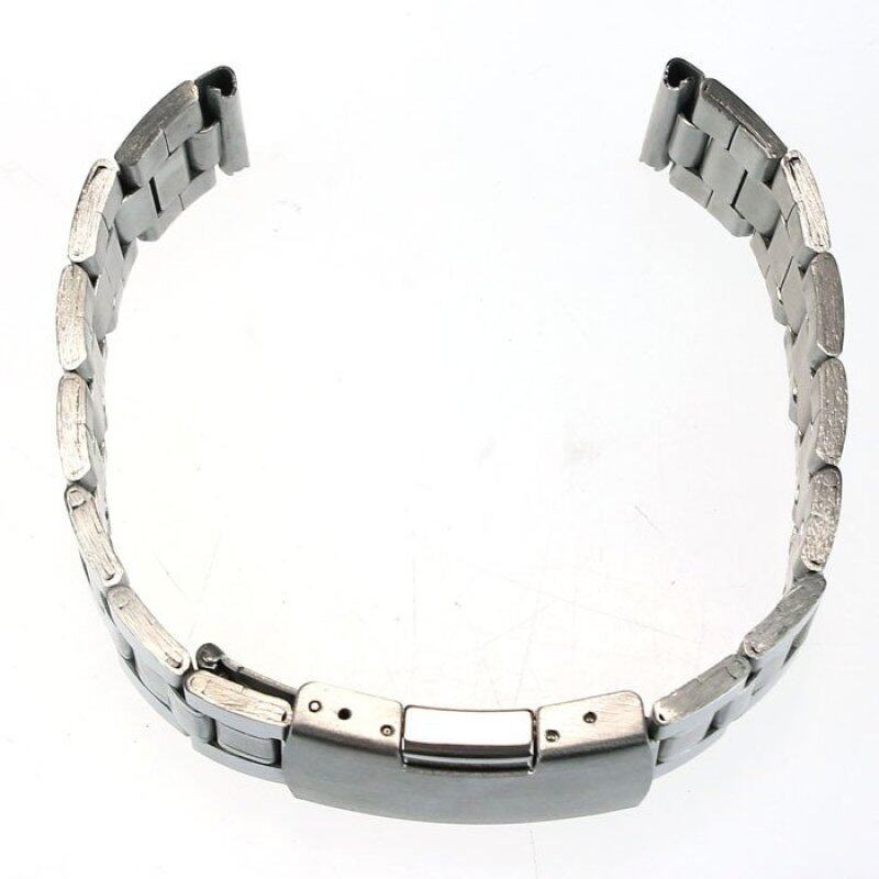 20mm Stainless Steel Watch Band Strap Straight End Bracelet Links  Silver Malaysia