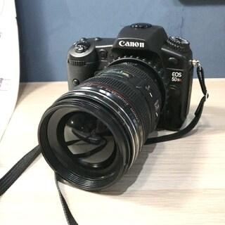 Mẫu Máy Ảnh DSLR Giả Không Hoạt Động Đạo Cụ Studio Chụp Ảnh Có Dây Đeo, Cho Canon EOS 5DSR thumbnail