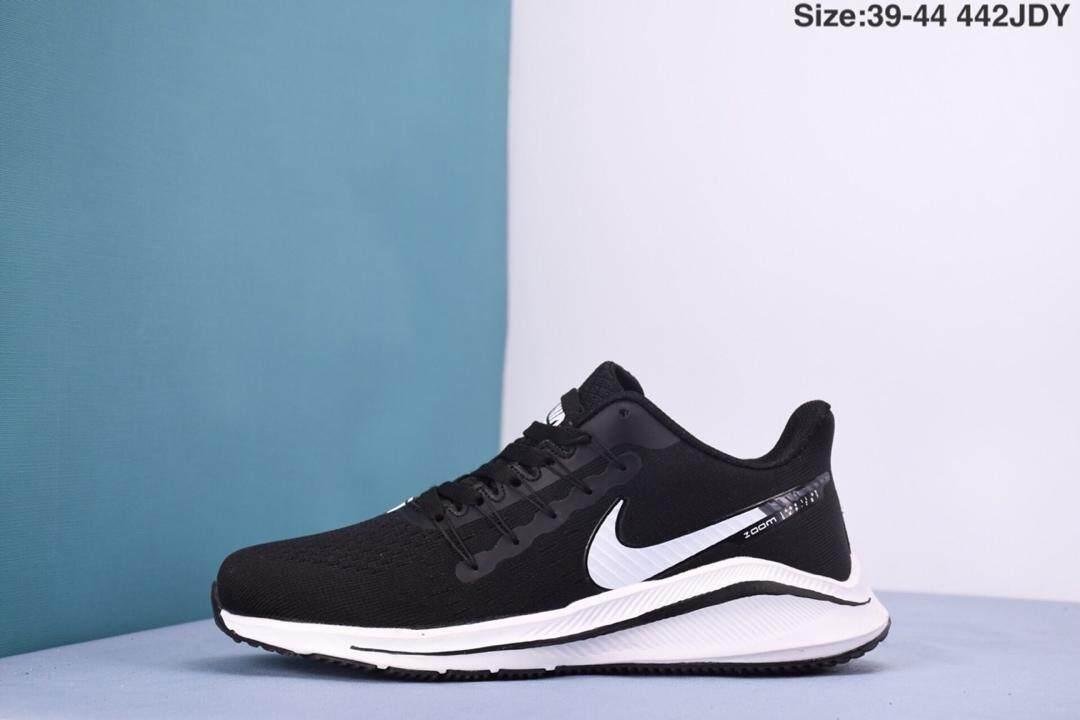 Nike_Air_Zoom_Vomer 14 Fly-knit_Running Sepatu Ultra-lightweight_Running Sepatu Kasual Sepatu Olahraga
