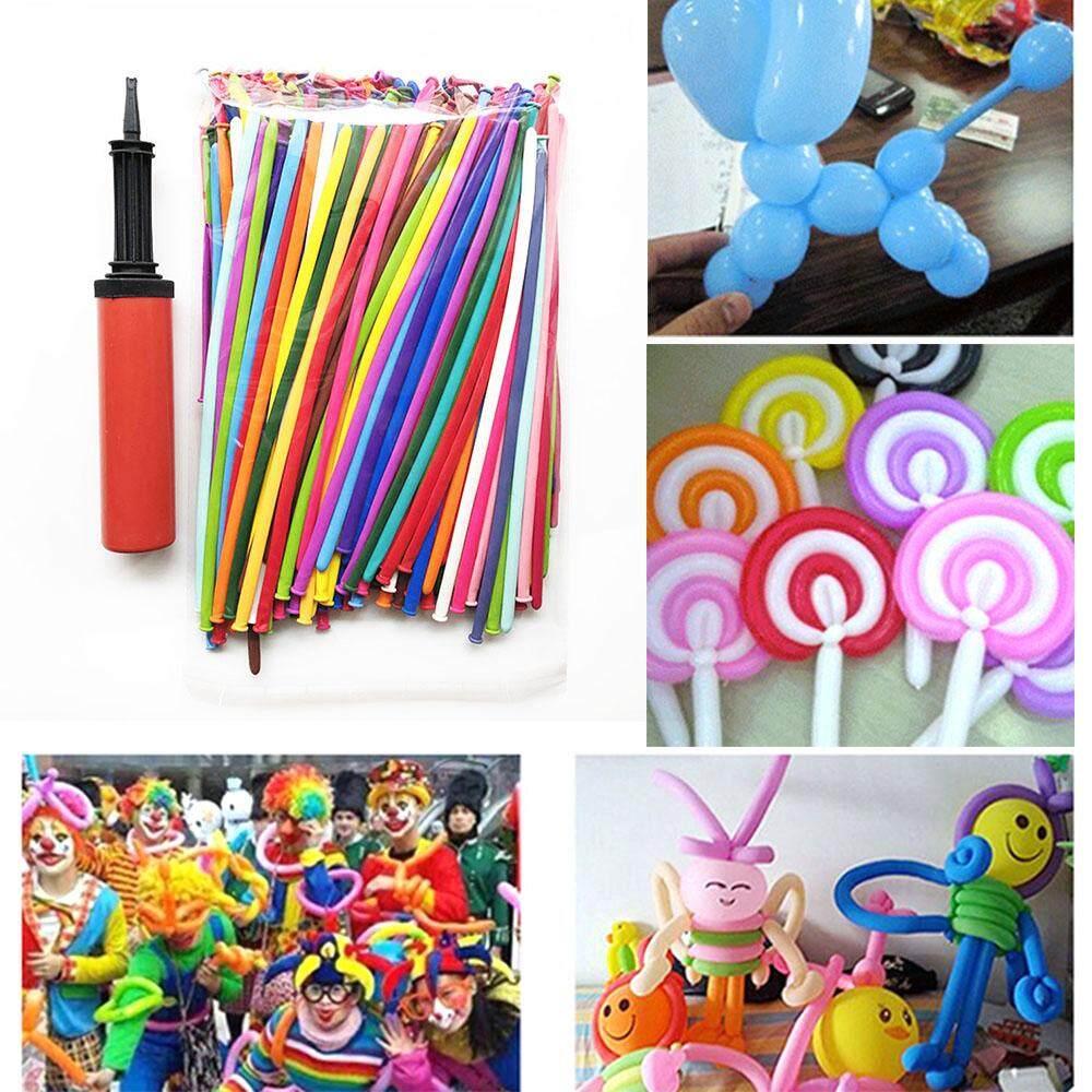 200 Pcs Mixed Color Magic Balloons Party Decoration Animal Twist Long Balloon