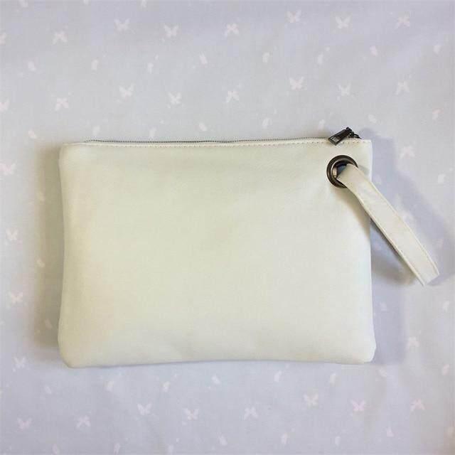 Womens Wallet Print Pu Soft Wallet Bag for Women Fashion Grace Zipper Portable Travel Phone Purse Bag
