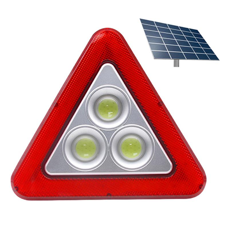 Benb Joeh Lampu Tanda Darurat LED, Lampu Peringatan Keselamatan Mobil, Lampu Tanda Darurat LED Segitiga untuk Mobil
