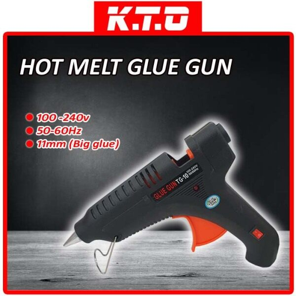 HOT MELT GLUE GUN 11MM BIG GLUE STICK / GAM PISTOL ( COME WITH 3 PACKAGE )