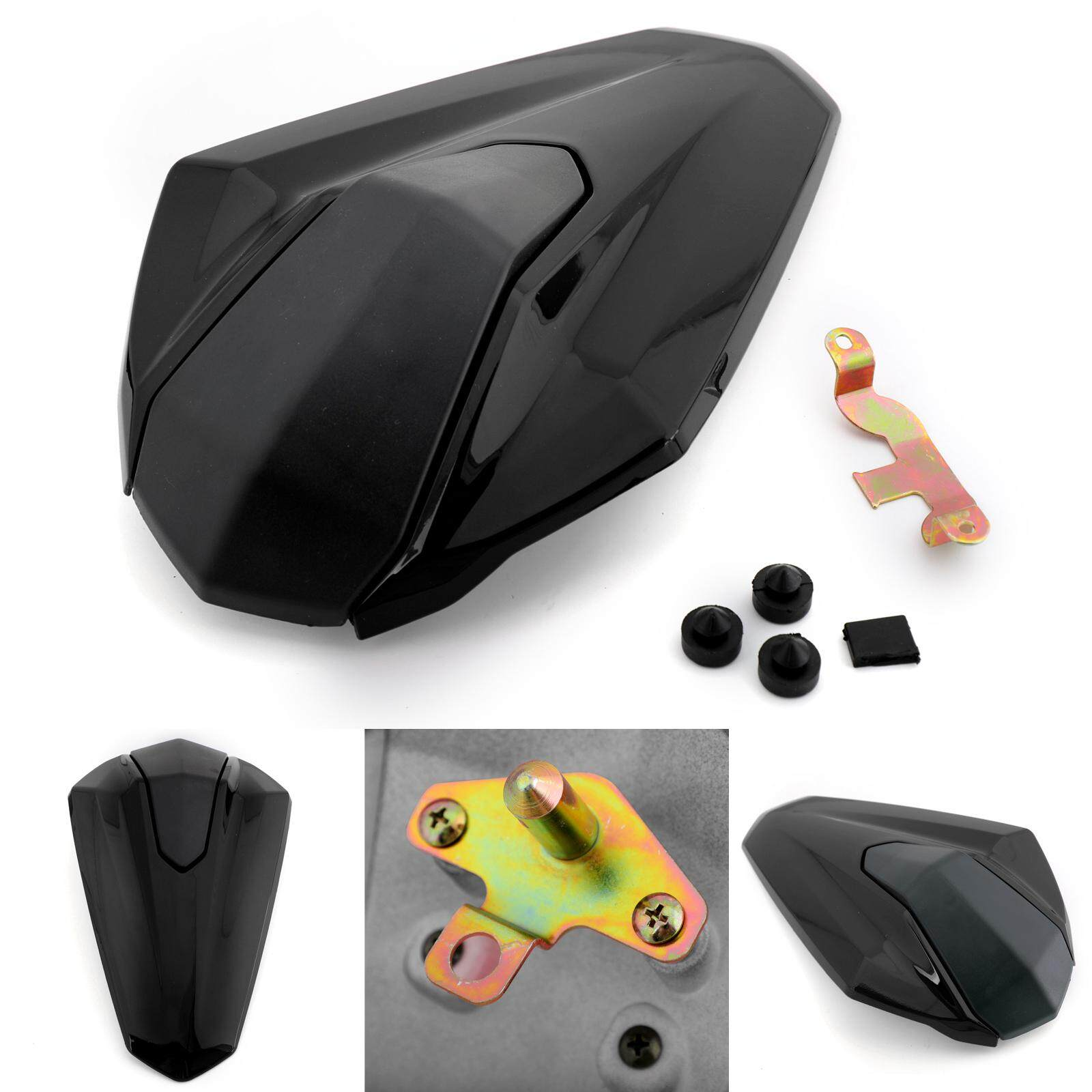 Black 17-18 Rear Seat Fairing Cover Cowl ABS plastic for Kawasaki Z900 ABS