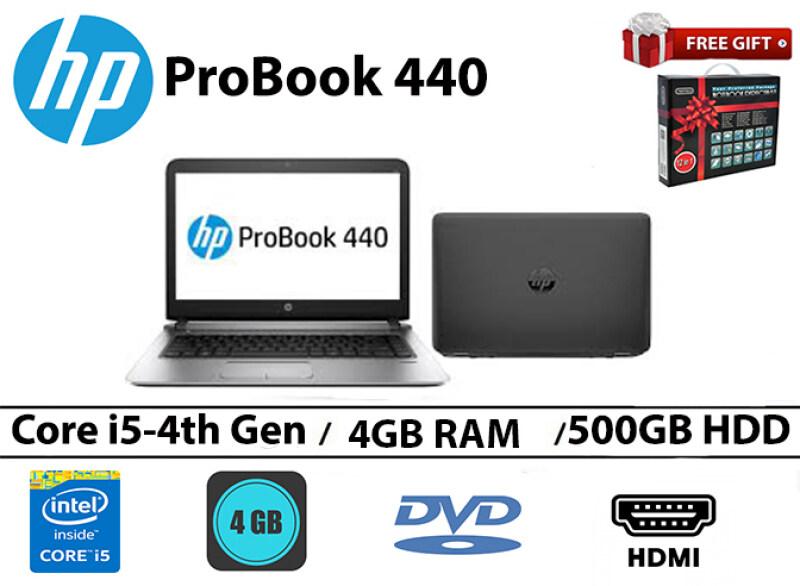 HP Probook 440/i5-4th gen/4GB RAM/500GB HDD/14 INCH Malaysia
