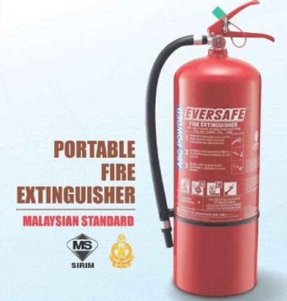 Fire Extinguisher 9kg Powder with wall bracket
