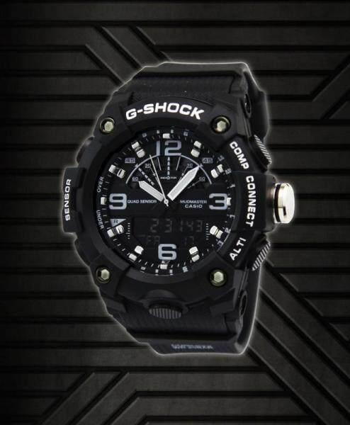 Casio_G_Shock GA 1100 1A Men Sport Watch Duo W Time 200M Water Resistant Shockproof and Waterproof World Time LED Wist Sports Watches Malaysia
