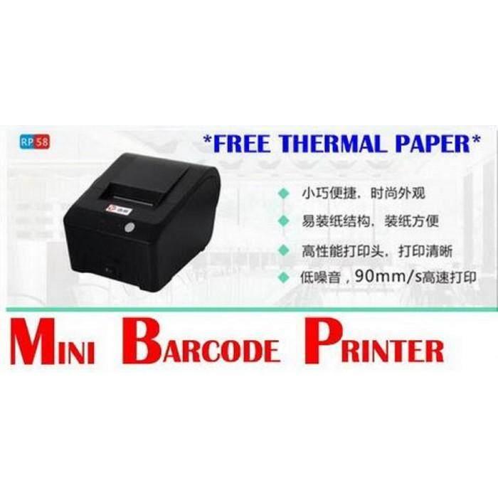 Mini Receipt Thermal USB Printer FREE Thermal Paper