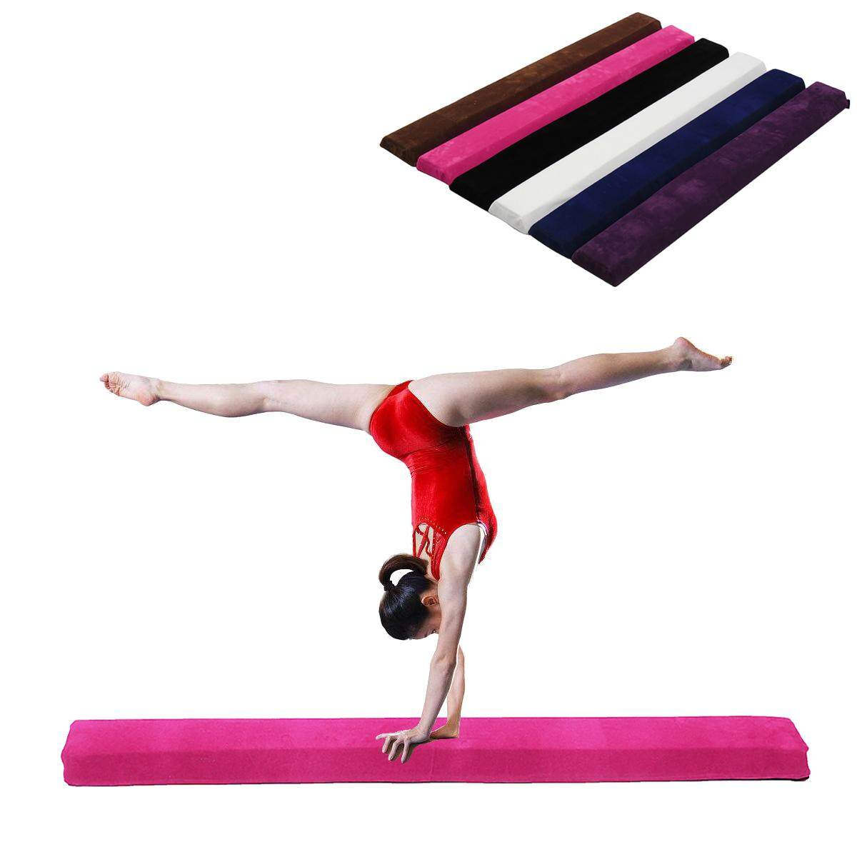 【free Shipping + Flash Deal】115x10x10cm Balance Beam Gymnastics Training Sport Practice Injuries Tumble Mat By Audew.