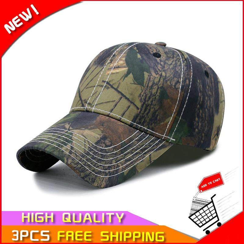 a20fd00d85ff8d Pudding store Fashion for men and women hat spring and autumn fashion  simulation camouflage baseball cap
