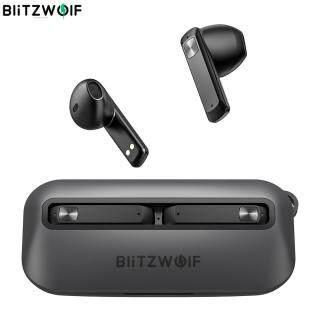 BW-FPE1 BlitzWolf Tai Nghe Bluetooth TWS Tai Nghe Nhét Tai Di Động Siêu Mỏng 1.7CM, Bộ Điều Khiển Âm Thanh Nổi HiFi Lớn 13Mm ENC Hai Micro Tai Nghe Nửa Tai-Màu Đen thumbnail