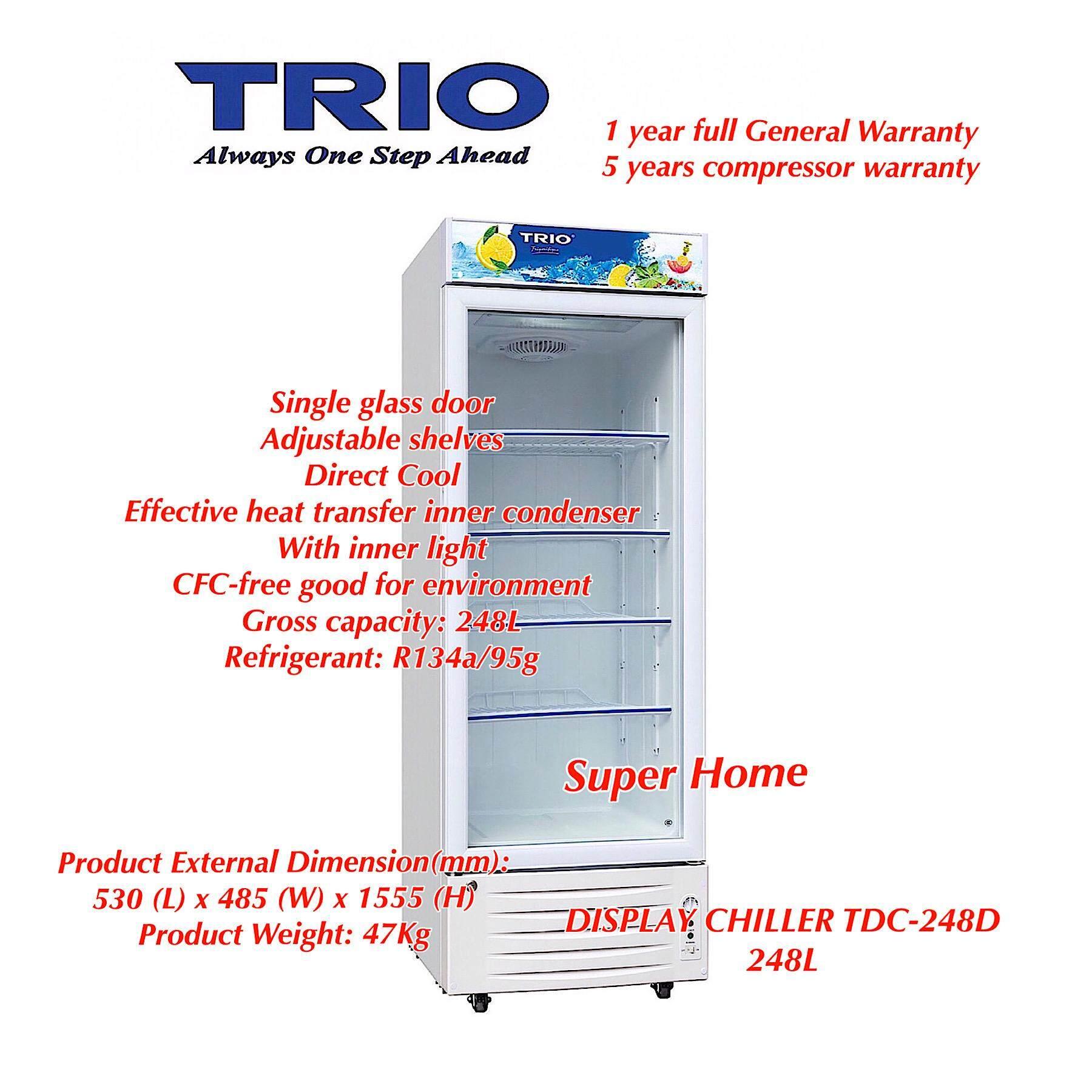 Trio Display Chiller TDC-248D - 248L