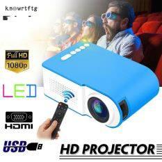 Máy chiếu 3D knowrtftg mới 7000 lumen 1080P, Máy chiếu phim gia đình, rạp chiếu phim, video đa phương tiện, USB