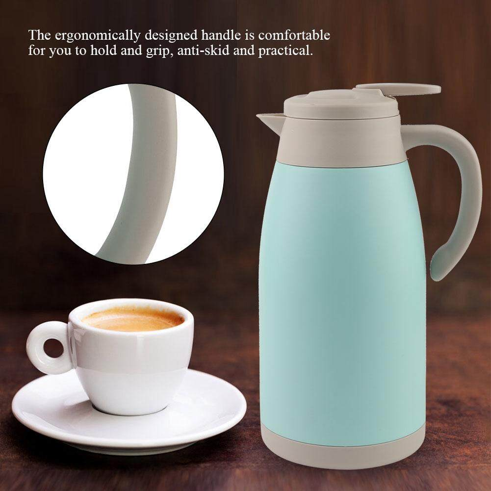 【New】 2L Stainless Steel Double Wall Household Vacuum Insulated Water Pot Jug