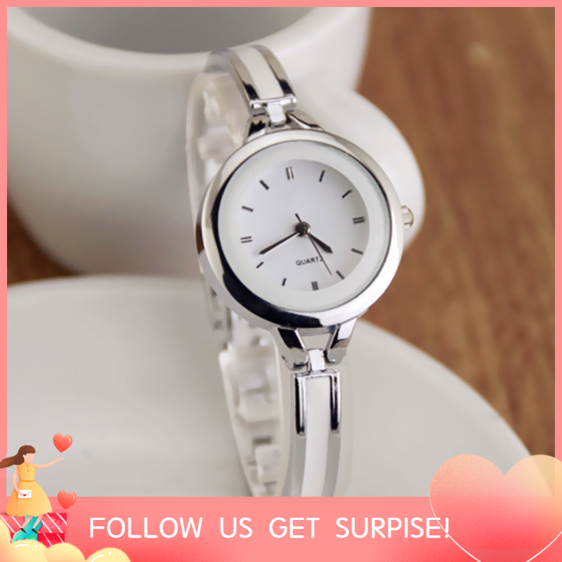 Women Fashion Elegant Quartz Watches Lady Graceful Bangle Watch Trendy Super Slim Wristwatch Malaysia