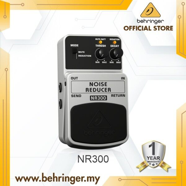 BEHRINGER NOISE REDUCER NR300 Ultimate Noise Reduction Effects Pedal Malaysia