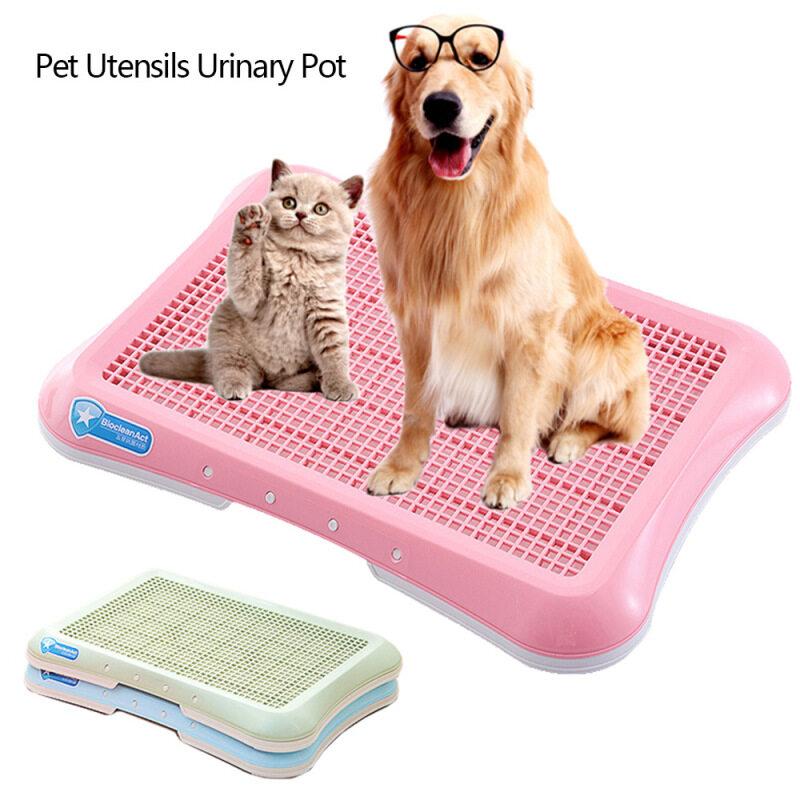 Nhựa Nhà Vệ Sinh Cho Chó Vật Nuôi Bô Toilet Cho Chó Mèo Con Chó Con Khay Đi Vệ Sinh Cho Mèo Cưng Huấn Luyện Chó Nhà Vệ Sinh Dễ Dàng Để Làm Sạch Sản Phẩm Thú Cưng