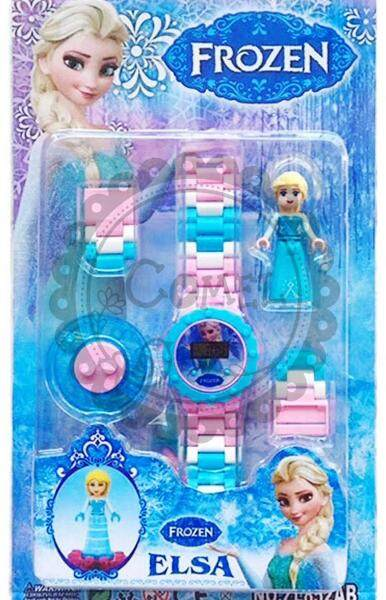 Comel Frozen Elsa and Anna Watch Malaysia