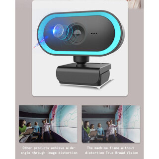 MagiDeal Webcam 2K HD, Micrô Tích Hợp, Cắm Và Phát Video Ghi Âm Cuộc Gọi thumbnail