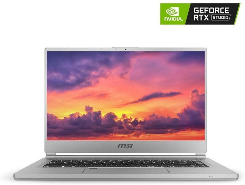 MSI P65 Creator-1084 15.6 4K UHD Display, Ultra-Thin and Light, RTX Studio Laptop, Intel Core i7-9750H, GeForce RTX 2060, 32GB DDR4, 1TB Teton Glacier SSD, Win10PRO, VR Ready Malaysia