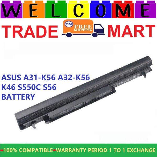 ASUS K46CM Laptop Battery / Asus A41-K56 K46C S550C S56 A56 Battery Malaysia