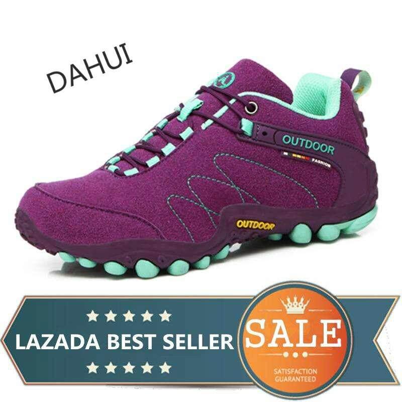 Men And Women Hiking Shoes Mountain Climbing Trekking Shoes Outdoor Sneaker (purple) By Taishandahui.