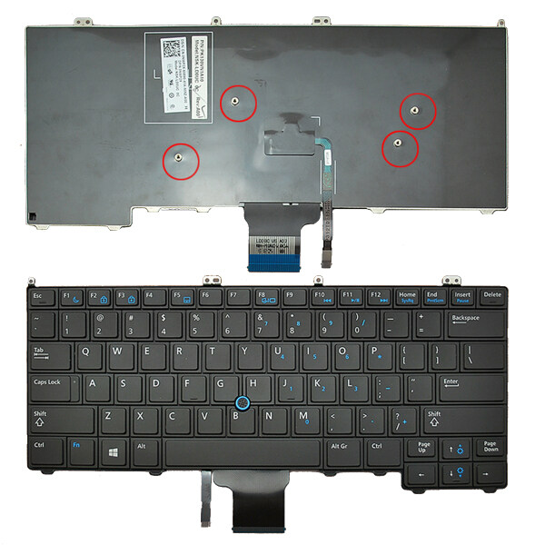 For DEL LATITUDE E7440 NPR1D 0NPR1D Laptop Keyboard Malaysia