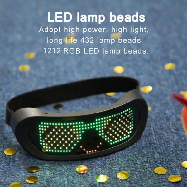 Giá bán [BXH SHOP] Kính LED Động Đủ Màu Kính Dạ Quang Cho Các Bữa Tiệc