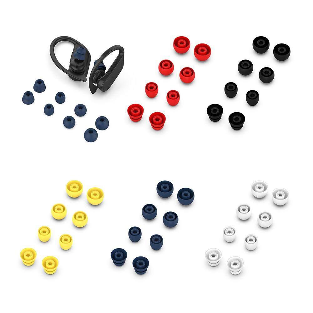 ใช้Beats Powerbeats Pro, Powerbeats3 MagicหูฟังบลูทูธUniversalปลั๊�อุดหูCover08Pcsซิลิโคนขนาดเล็�นุ่มหูฟัง�บบIn-EarหูฟังEartipsสำหรับPowerbeats Pro/3