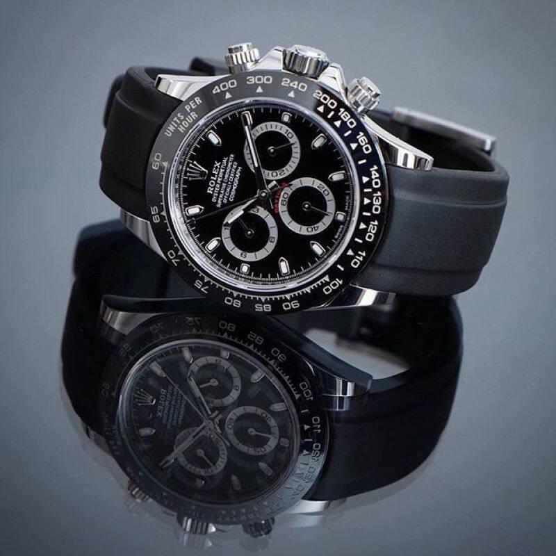 Rolex_Cosmograph_Daytona_OyesterFlex_Saphir Crystall Glass Automatic Chronograph Men & Women Watch Full Set Malaysia