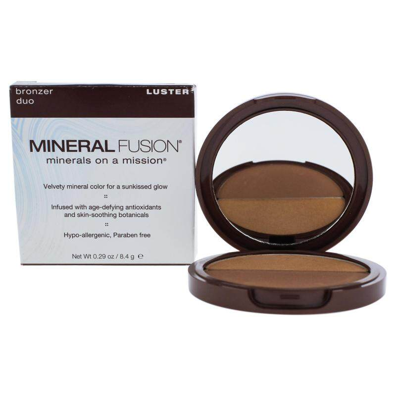Buy Bronzer Duo - Luster by Mineral Fusion for Women - 0.29 oz Bronzer Singapore