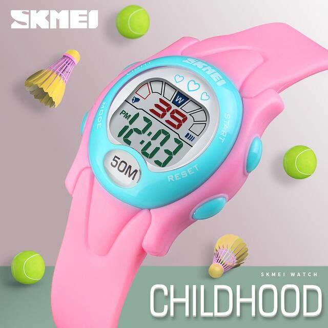 SKMEI New Kids Fashion Watches Digital Luminous Waterproof Watch Boys Girls Children Alarm Clock Sports Wristwatches 1478 Malaysia