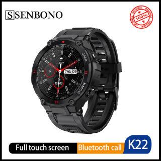 Senbono Smartwatch Đồng Hồ Thông Minh Ngoài Trời K22 Mới, Đồng Hồ Điện Thoại Bluetooth Màn Hình Tròn Chống Nước Dài 1.28 Inch HR Tracker Thể Dục thumbnail