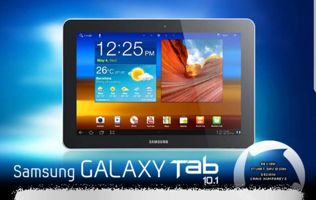 (HOT SELLING) SAMSUNG GALAXY CALL TAB 10 1 INCH 2GB / 32GB DUAL SIM (IMPORT  SET)