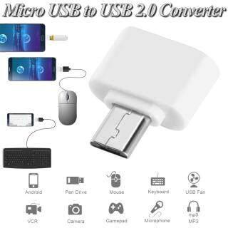 Bộ chuyển đổi OTG Micro USB sang USB 2.0 kết nối thông minh dành cho điện thoại thông minh Android bàn phím chuột bộ điều khiển trò chơi máy ảnh kỹ thuật số thumbnail
